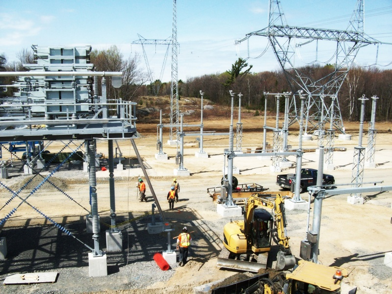 Along with its subcontractors, Chant Group was responsible for the Nobel Substation civil construction and electrical installation, including assisting ABB with the commissioning of its supplied electrical components and control building instrumentation.